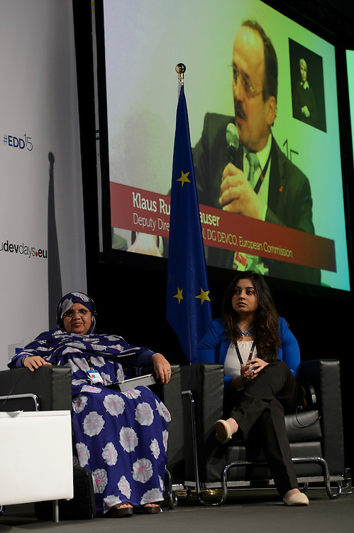 03 June 2015 - Belgium - Brussels - European Development Days - EDD - Gender - Ending gender inequality by 2030! - Tanvi Girotra , Future Leader - Fatimetou Mint Abdel Malick , President, African Network of Locally Elected Women Network (REFELA) © European Union