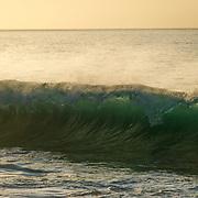 Wave crashing. Los Cabos. Baja.