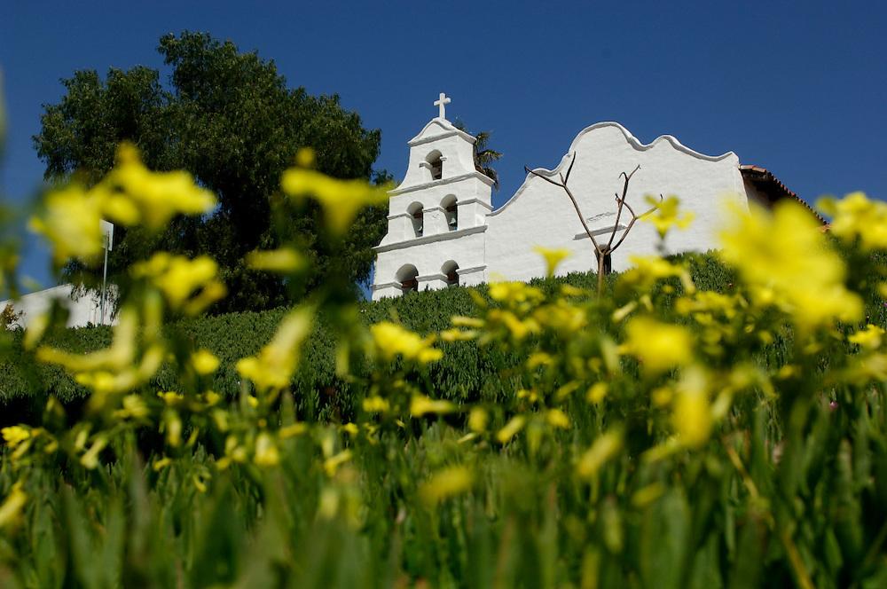 Flowers, Mission San Diego de Alcala, San Diego, California, United States of America