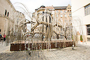 Eastern Europe, Hungary, Budapest, Dohany Street Synagogue The Tree of Life