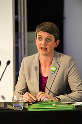Pictured:  Maggie Chapman (Co-convenor of the Scottish Greens)<br /> <br /> Candidates from the five main parties faced questions at the Building Scotland's Future election hustings today. The panalists, Kath Gordon (Lib Dem), Marco Biagi (SNP), Monica Lennon (Labour), Ian McGill (Conservatives) and Maggie Chapman (Co-convenor of the Scottish Greens) were quizzed on issued affecting infrastructure and the build environment.  <br /> <br /> Ger Harley | EEm 19 April 2016