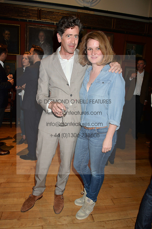 EDWARD HURST and BRIDIE HALL at a party to celebrate the publication of English Houses by Ben Pentreath held at the Art Worker's Guild, 6 Queen Square, London on 28th September 2016.