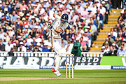 Stuart Broad during the 3rd Investec Ashes Test match between England and Australia at Edgbaston, Birmingham, United Kingdom on 30 July 2015. Photo by Shane Healey.