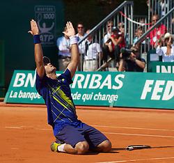 MONTE-CARLO, MONACO - Sunday, April 18, 2010: xxxx during the Men's Singles Final on day seven of the ATP Masters Series Monte-Carlo at the Monte-Carlo Country Club. (Photo by David Rawcliffe/Propaganda)