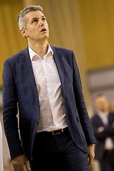 Zoran Martic, head coach of KK Petrol Olimpija Ljubljana during basketball match between KK Petrol Olimpija and KK Helios Suns in Playoffs of Liga Nova KBM 2017/18, on April 25, 2018 in Tivoli sports hall, Ljubljana, Slovenia. Photo by Urban Urbanc / Sportida
