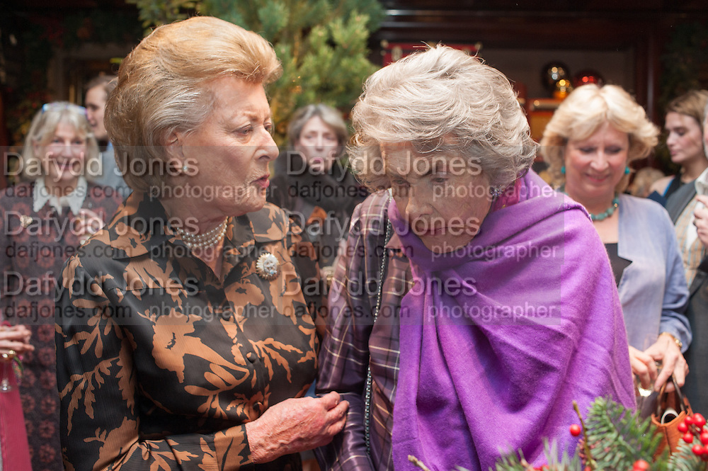 LADY PAMELA HICKS; COUNTESS MOUNTBATTEN OF BURMA , Book launch for ' Daughter of Empire - Life as a Mountbatten' by Lady Pamela Hicks. Ralph Lauren, 1 New Bond St. London. 12 November 2012.