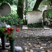Nederland, Amsterdam , 17 oktober 2012..Het graf van de componist Cornelis Dopper op begraafplaats Zorgvlied..Foto:Jean-Pierre Jans