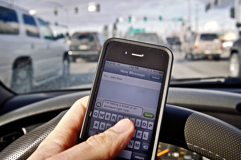 According to a November survey by Riley Research Associates, 87 percent of Idahoans are in favor of a law prohibiting texting while driving. Also, 85 percent were in favor of a law prohibiting drivers 17 and under from any cell phone use while they fulfill the requisites to obtain a drivers license.