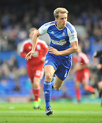 CHRISTOPHE BERRA IPSWICH TOWN,  Ipswich Town v Birmingham City EFL Sky Bet Championship, Portman Road, Saturday 1st April 2017: Score 1-1<br /> Photo:Mike Capps