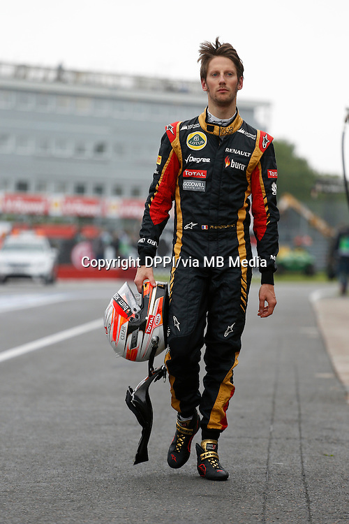 MOTORSPORT - F1 2013 - GRAND PRIX OF CANADA - MONTREAL (CAN) - 07 TO 09/06/2013 - PHOTO FRANCOIS FLAMAND / DPPI - GROSJEAN ROMAIN (FRA) - LOTUS E21 RENAULT - AMBIANCE PORTRAIT