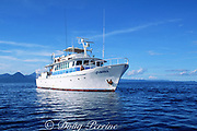live-aboard dive boat MV Febrina, Kimbe Bay, New Britain, Papua New Guinea ( Pacific )