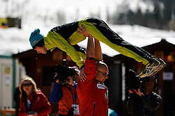 20.03.2014, Planica, Ratece, SLO, FIS Weltcup Ski Sprung, Planica, Qualifikation, im Bild Noriaki Kasai // Noriaki Kasai during the qualifikation of the mens individual large Hill of the FIS Ski jumping Worldcup Cup finals at Planica in Ratece, Slovenia on 2014/03/20. EXPA Pictures © 2014, PhotoCredit: EXPA/ Newspix/ Irek Dorozanski<br /> <br /> *****ATTENTION - for AUT, SLO, CRO, SRB, BIH, MAZ, TUR, SUI, SWE only*****