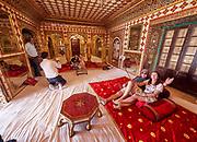 India, Rajasthan. Jaipur. City Palace.