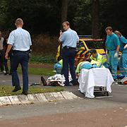 Ongeval Zuiderzee - Bestevear Huizen, fietser aangereden