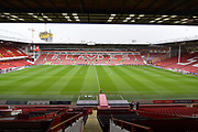 Sheffield United Bramall Lane ground before the EFL Sky Bet Championship match between Sheffield Utd and Reading at Bramall Lane, Sheffield, England on 21 October 2017. Photo by Ian Lyall.