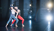 Yorke Dance Project pay tribute to the past whilst discovering the future: London premieres from Yorke Dance Project&rsquo;s fascinating new programme Rewind Forward.<br /> <br /> Featuring Sir Kenneth MacMillan&rsquo;s rarely-seen Sea of Troubles and Yolande Yorke Edgell&rsquo;s latest work Untethered.<br /> <br /> Picture: Dancers: Amy Thake and Kieran Stonely.<br /> <br /> At Lillian Baylis Studio Theatre, Sadler&rsquo;s Wells Theatre, London. <br /> <br /> &copy; Tony Nandi 2016