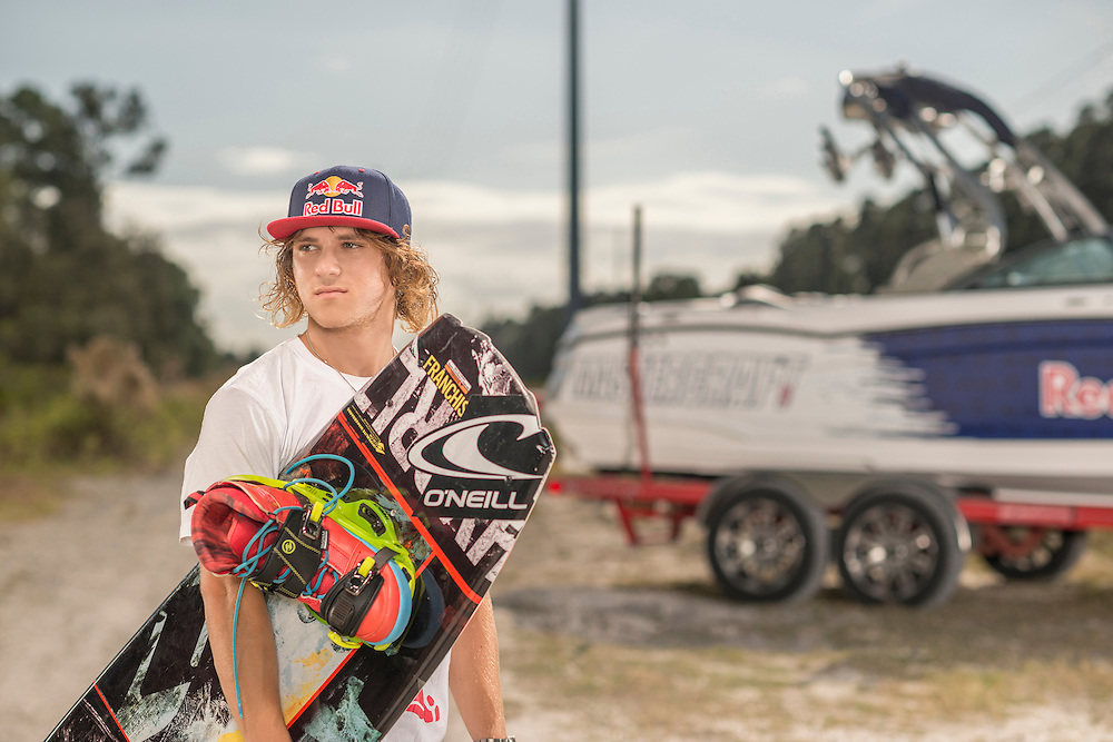 Marc Kroon shot for Red Bull on the St. John's River in Orlando, Florida.