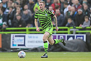 Forest Green Rovers Carl Winchester(7) runs forward during the EFL Sky Bet League 2 match between Forest Green Rovers and Plymouth Argyle at the New Lawn, Forest Green, United Kingdom on 16 November 2019.