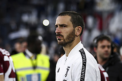 May 3, 2019 - Turin, Italy - Juventus defender Leonardo Bonucci (19) during the Serie A football match n.35 JUVENTUS - TORINO on 03/05/2019 at the Allianz Stadium in Turin, Italy. (Credit Image: © Matteo Bottanelli/NurPhoto via ZUMA Press)