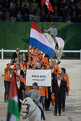 Opening Ceremony Team NED<br /> Alltech FEI World Equestrian Games™ 2014 - Normandy, France.<br /> © Hippo Foto Team - Dirk Caremans<br /> 25/06/14