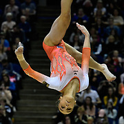 08.04.2017 iPRO SPORT World Cup Gymnastics at The 02 Arena London UK Ladies Competition Tabea Alt GER
