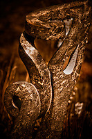 Zimsculpt at Van Dusen Botanical Garden: Separate Ways - opal stone sculpture by Lincon Muteta (original sculpture available at www.zimsculpt.com)