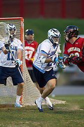 23 April 2010: North Carolina Tar Heels  defenseman Ryan Flanagan (24) during a 13-5 loss to the Maryland Terrapins in the first round of the ACC Tournament at Byrd Stadium in College Park, MD.