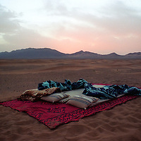 Bed in the Desert | Sahara Desert | Morocco | Travel Photographer | Editorial Photographer | Drew Bird Photography | San Francisco Freelance Photographer | Freelance Photojournalist | Oakland Event Photographer