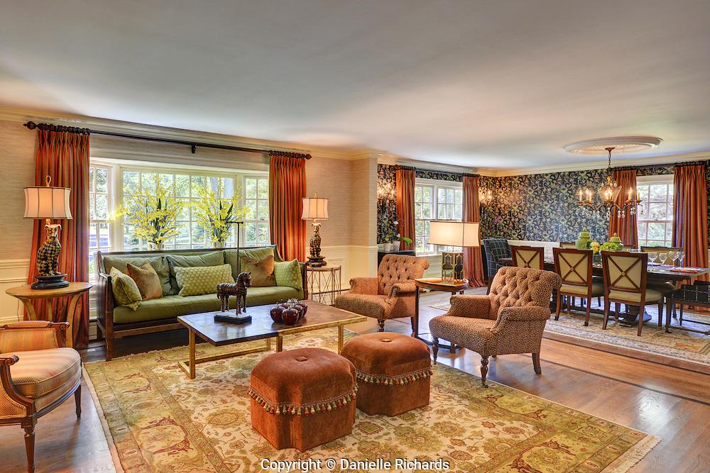 Interior design elements by MK Designs.