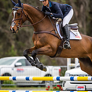 Lynn Symansky (USA) and Global Cassero 3 at the Red Hills International Horse Trials in Tallahassee, Florida.
