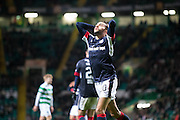 Dundee&rsquo;s Faissal El Bakhtaoui dismay after missing a golden chance to earn the Dark Blues a point at Celtic Park - Celtic v Dundee in the Ladbrokes Scottish Premiership at Celtic Park, Glasgow. Photo: David Young<br /> <br />  - &copy; David Young - www.davidyoungphoto.co.uk - email: davidyoungphoto@gmail.com