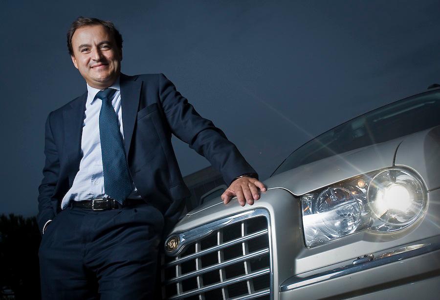 Francisco Geraldes. director geral da Chrysler. Para Revista Exame, edição PME`s 2008