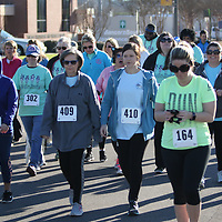 Hundreds of people came out to Fairpark Saturday to participate in the Run for Your Buns 5k to shed light on Colon cancer