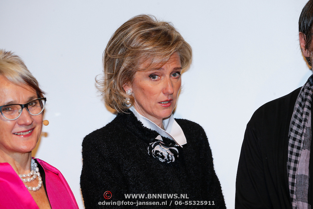BEL/Brussel/20130319- Uitreiking Prinses Margriet Award 2013, Prinses Astrid van Belgie