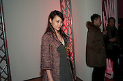 Rinko Kikuchi ; Part of the asian film festival. The afterparty following the UK film premiere of 'Norwegian Wood' at the Haunch Of Venison. London. 3 March 2011 -DO NOT ARCHIVE-© Copyright Photograph by Dafydd Jones. 248 Clapham Rd. London SW9 0PZ. Tel 0207 820 0771. www.dafjones.com.