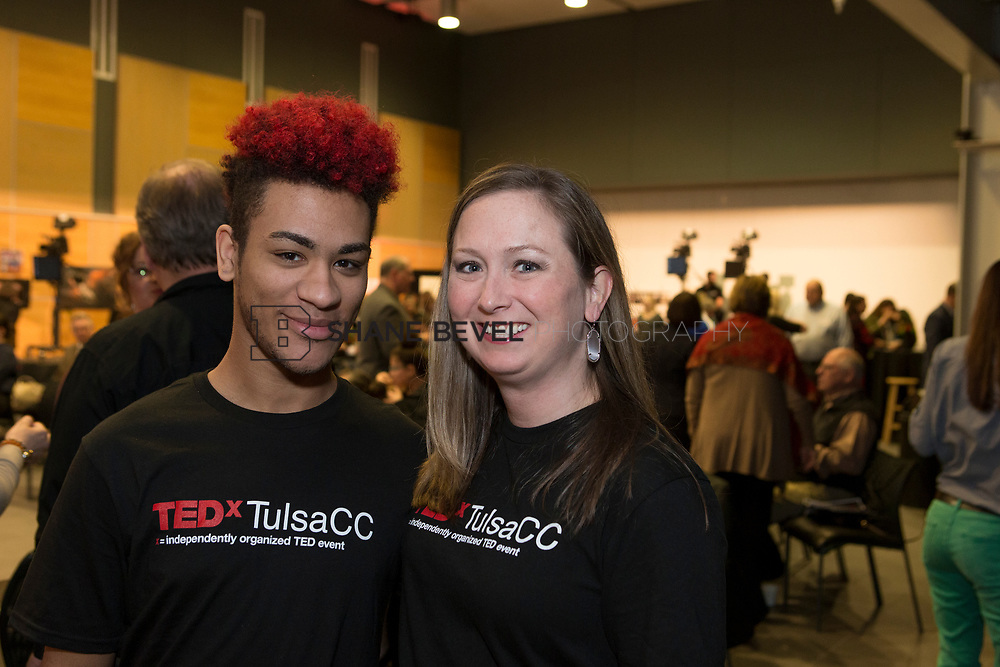 4/29/17 5:04:19 PM -- Tedx TulsaCC event at the Center for Creativity. Released under Creative Commons license for non commercial, non derivative usage. <br /> <br /> Photo by Shane Bevel