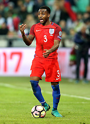 Danny Rose of England looks for a pass to make - Mandatory by-line: Robbie Stephenson/JMP - 11/10/2016 - FOOTBALL - RSC Stozice - Ljubljana, England - Slovenia v England - World Cup European Qualifier