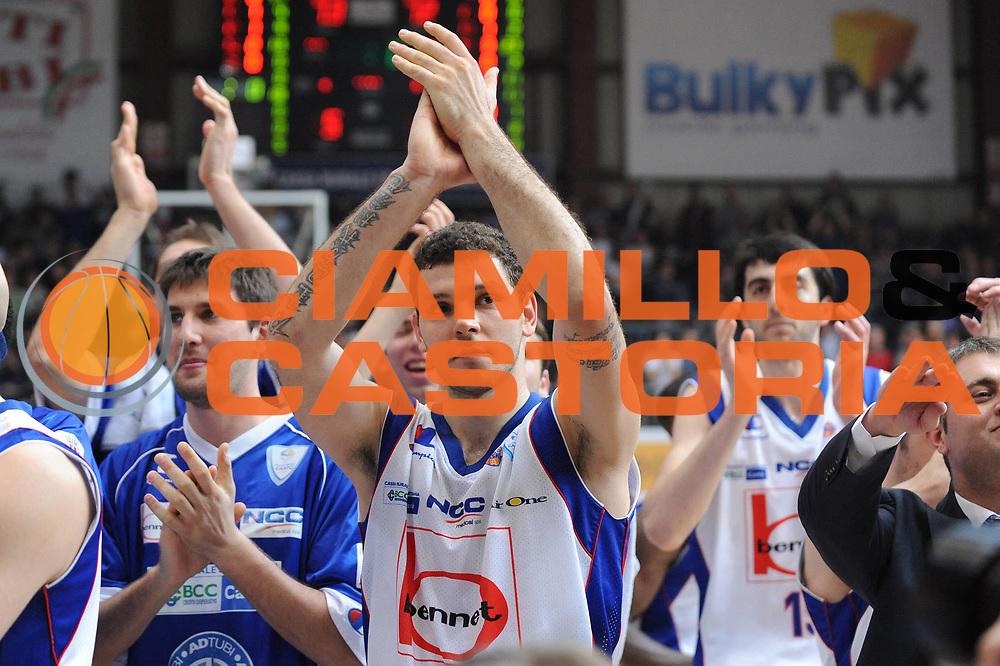 DESCRIZIONE : Cantu Lega A 2011-12 Bennet Cantu Acea Virtus Roma<br /> GIOCATORE : Team Cantu<br /> CATEGORIA : esultanza<br /> SQUADRA : Bennet Cantu <br /> EVENTO : Campionato Lega A 2011-2012<br /> GARA : Bennet Cantu Acea Virtus Roma<br /> DATA : 17/03/2012<br /> SPORT : Pallacanestro <br /> AUTORE : Agenzia Ciamillo-Castoria/M.Marchi<br /> Galleria : Lega Basket A 2011-2012 <br /> Fotonotizia : Cantu Lega A 2011-12 Bennet Cantu Acea Virtus Roma<br /> Predefinita :