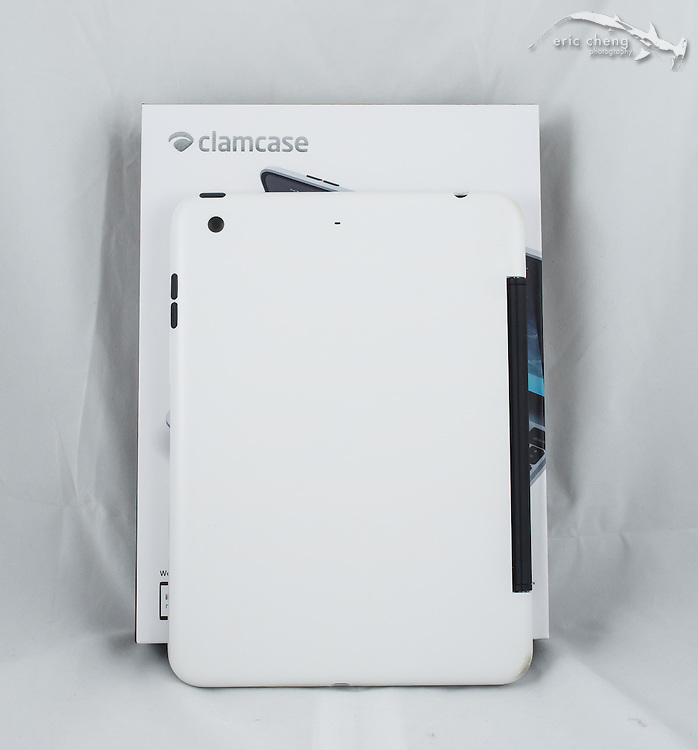 ClamCase Pro hard keyboard case for iPad Mini Retina
