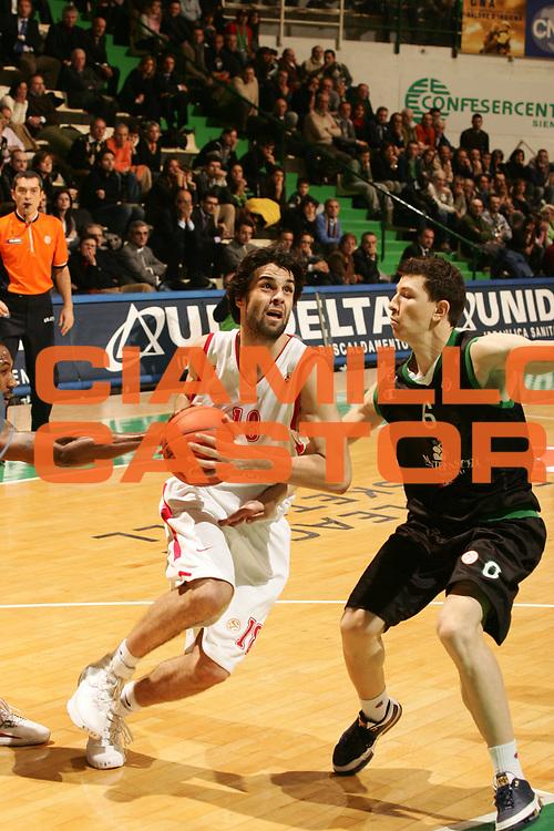 DESCRIZIONE : Siena Eurolega 2007-08 Montepaschi Siena Olimpiacos Piraeus <br /> GIOCATORE : Milos Teodosic <br /> SQUADRA : Olimpiacos Piraeus <br /> EVENTO : Eurolega 2007-2008 <br /> GARA : Montepaschi Siena Olimpiacos Piraeus <br /> DATA : 05/12/2007 <br /> CATEGORIA : Penetrazione <br /> SPORT : Pallacanestro <br /> AUTORE : Agenzia Ciamillo-Castoria/P.Lazzeroni