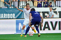 Luka Bobicanec of NS Mura during football match between NK Maribor and NS Mura in 2nd Round of Prva liga Telekom Slovenije 2018/19, on July 29, 2018 in Ljudski vrt, Maribor, Slovenia. Photo by Mario Horvat / Sportida