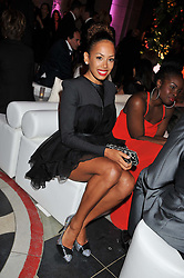 JADE EWEN at the 50th birthday party for Jonathan Shalit held at the V&A Museum, London on 17th April 2012.