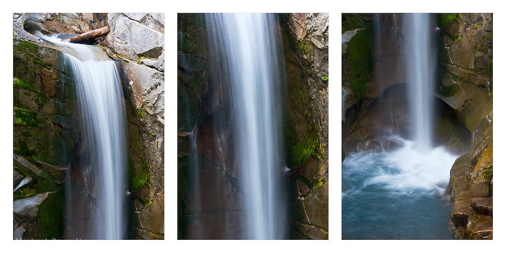 Christine Falls on Van Trump Creek in Mount Rainier National Park