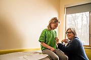 LONGMEADOW, CT – MARCH 21, 2019: Scenes from Pioneer Valley Pediatrics.