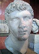 King Ptolemy of Mauretania, 23 AD 40 AD, Cherchel, Algeria (ancient Caesarea) Marble