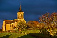 France, Saône-et-Loire (71), Brionnais, Amanze, eglise // France, Saône-et-Loire (71), Brionnais, Amanzé, church