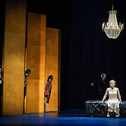 Pacific Music Works and UW School of Music production of Magic Flute. Mary Feminear, Pamina.