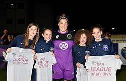 Mary Earps of Bristol Academy Women poses with a few of the U13 players from Bristol Academy - Mandatory by-line: Paul Knight/JMP - Mobile: 07966 386802 - 04/10/2015 -  FOOTBALL - Stoke Gifford Stadium - Bristol, England -  Bristol Academy Women v Liverpool Ladies FC - FA Women's Super League