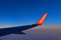 The stylish lines of the Air North Boeing 737-500 winglet