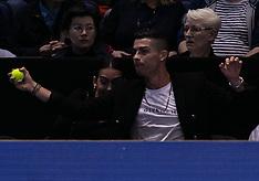 Cristiano Ronaldo at 2018 ATP World Tour Finals in London - 12 Nov 2018